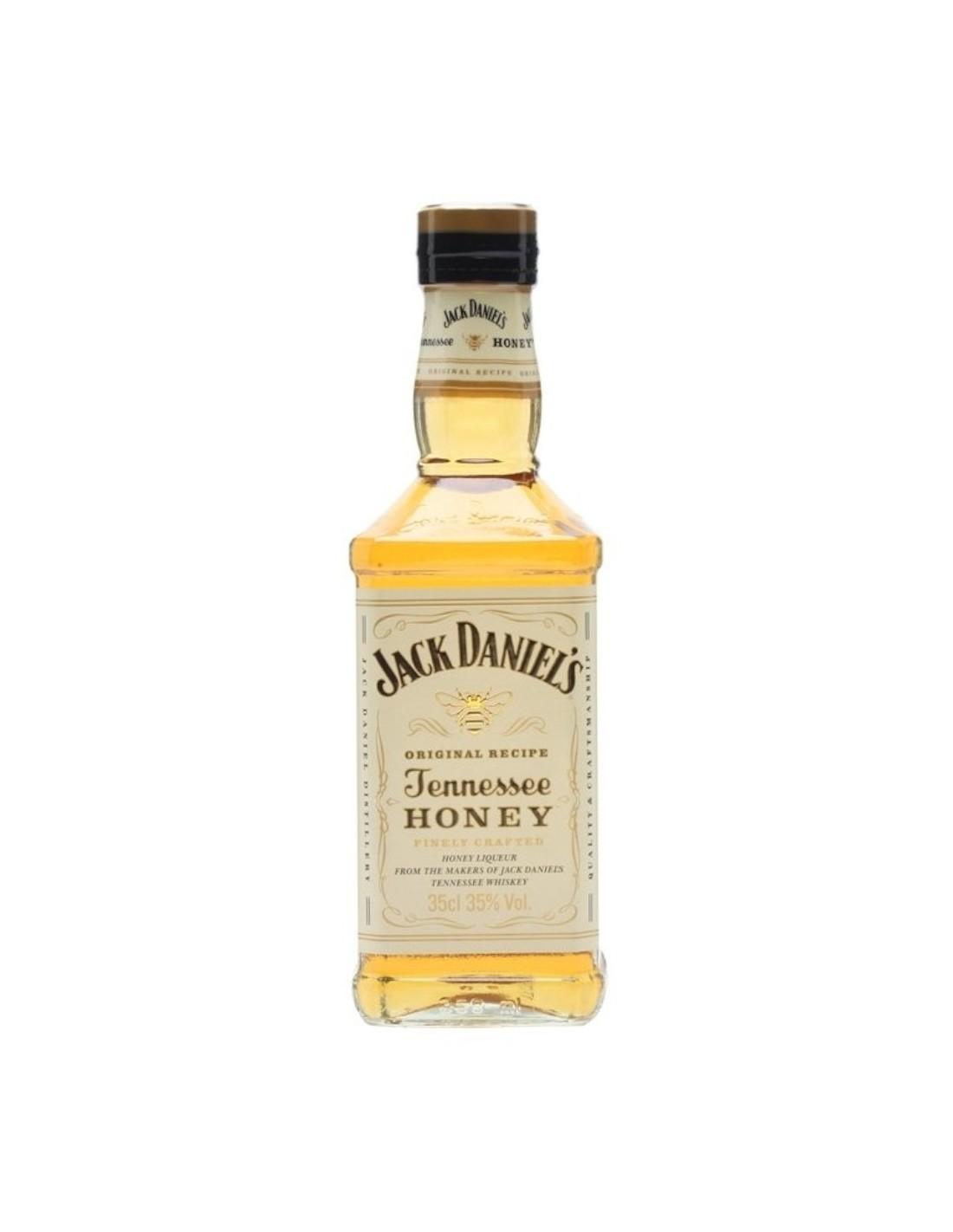 Whisky Bourbon Jack Daniels Honey, 35% alc., 0.05L