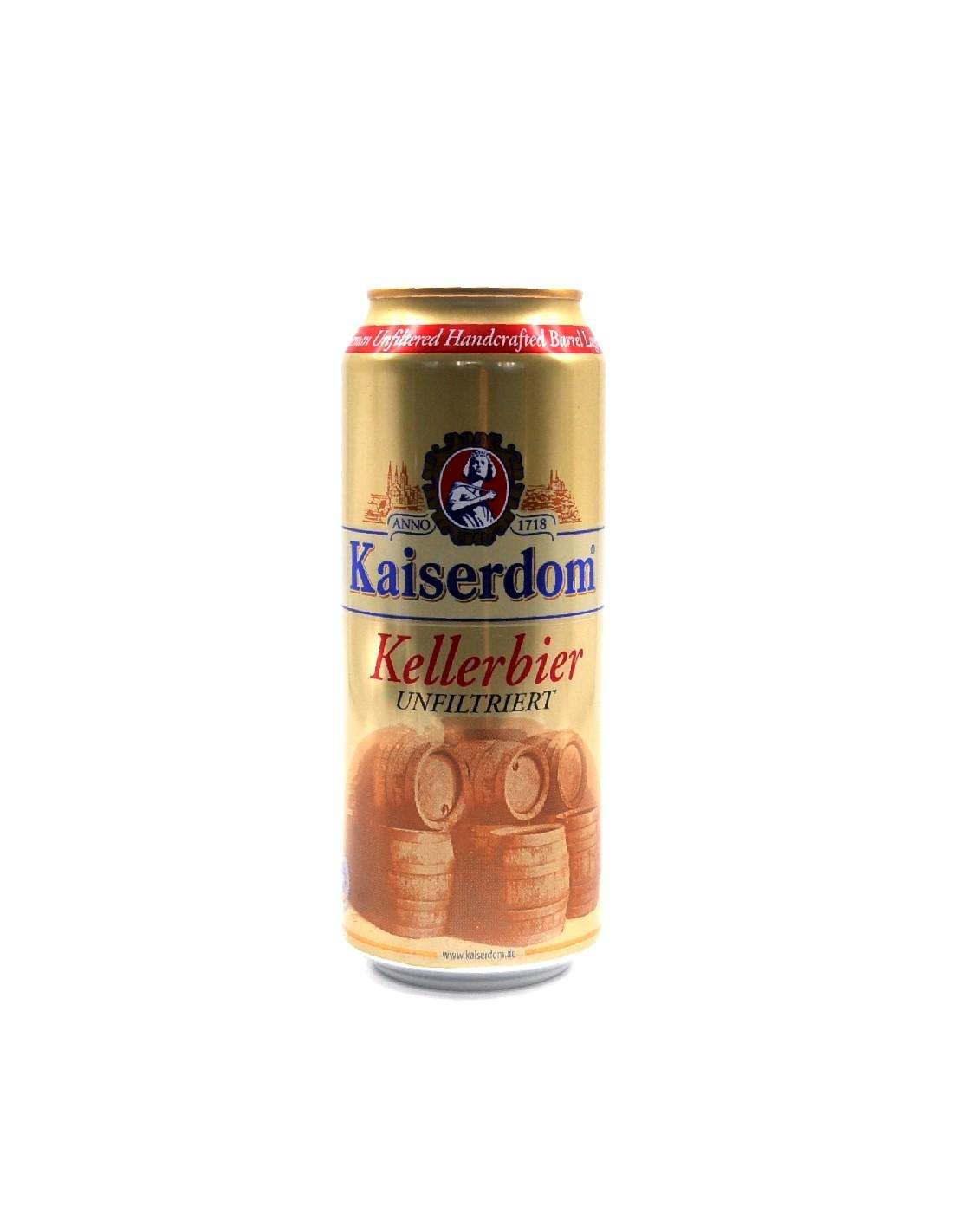Bere alba nefiltrata, Kaiserdom, 4.8% alc., 0.5L, Germania, doza
