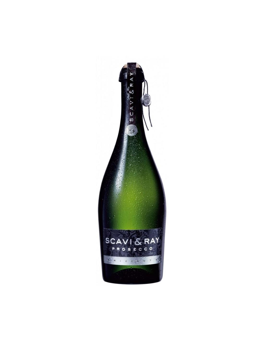 Vin frizzante Scavi&Ray Prosecco Extra Dry, 10.5% alc., 0.75L