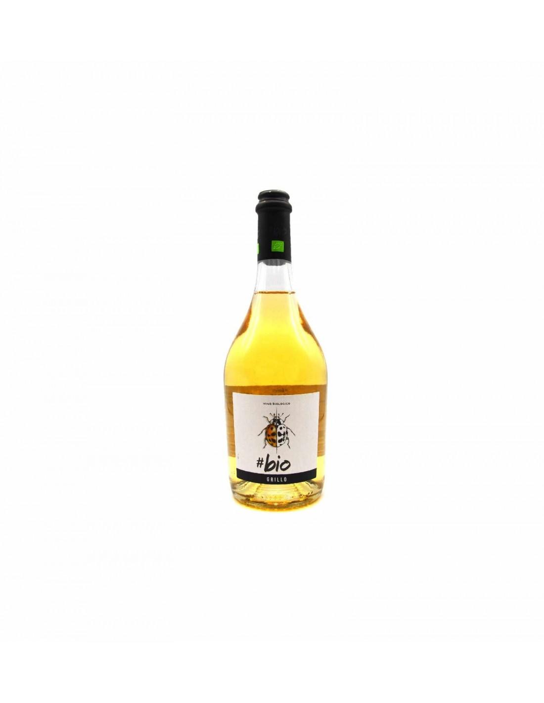 Vin alb organic, Grillo, Bio Sicilia, 12.5% alc., 0.75L, Italia image0