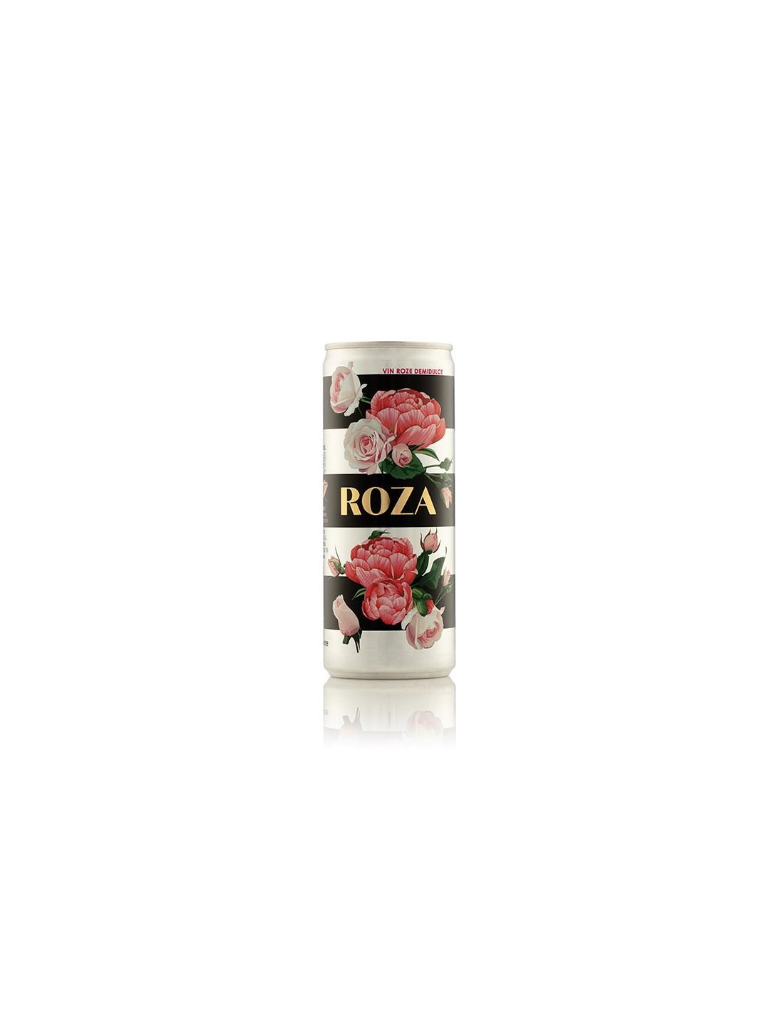 Vin rose demidulce, Feteasca Neagra & Pinot Noir, Roza, Ciumbrud, 12% alc., 0.25L, Romania