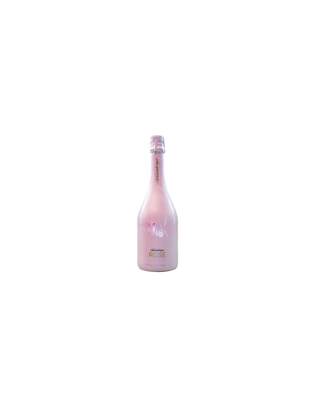 Vin spumant roze sec, Schlumberger, 0.75L, 11.5% alc., Austria