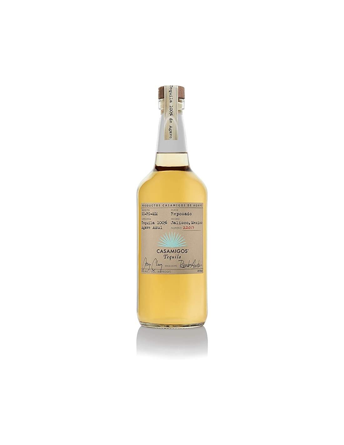 Tequila Casamigos Reposado, 40% alc., 0.7L, Mexic