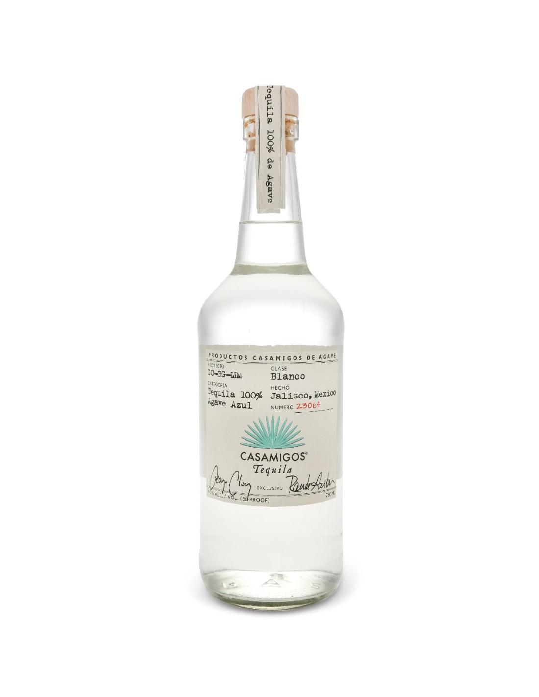 Tequila Casamigos Blanco, 40% alc., 0.7L, Mexic