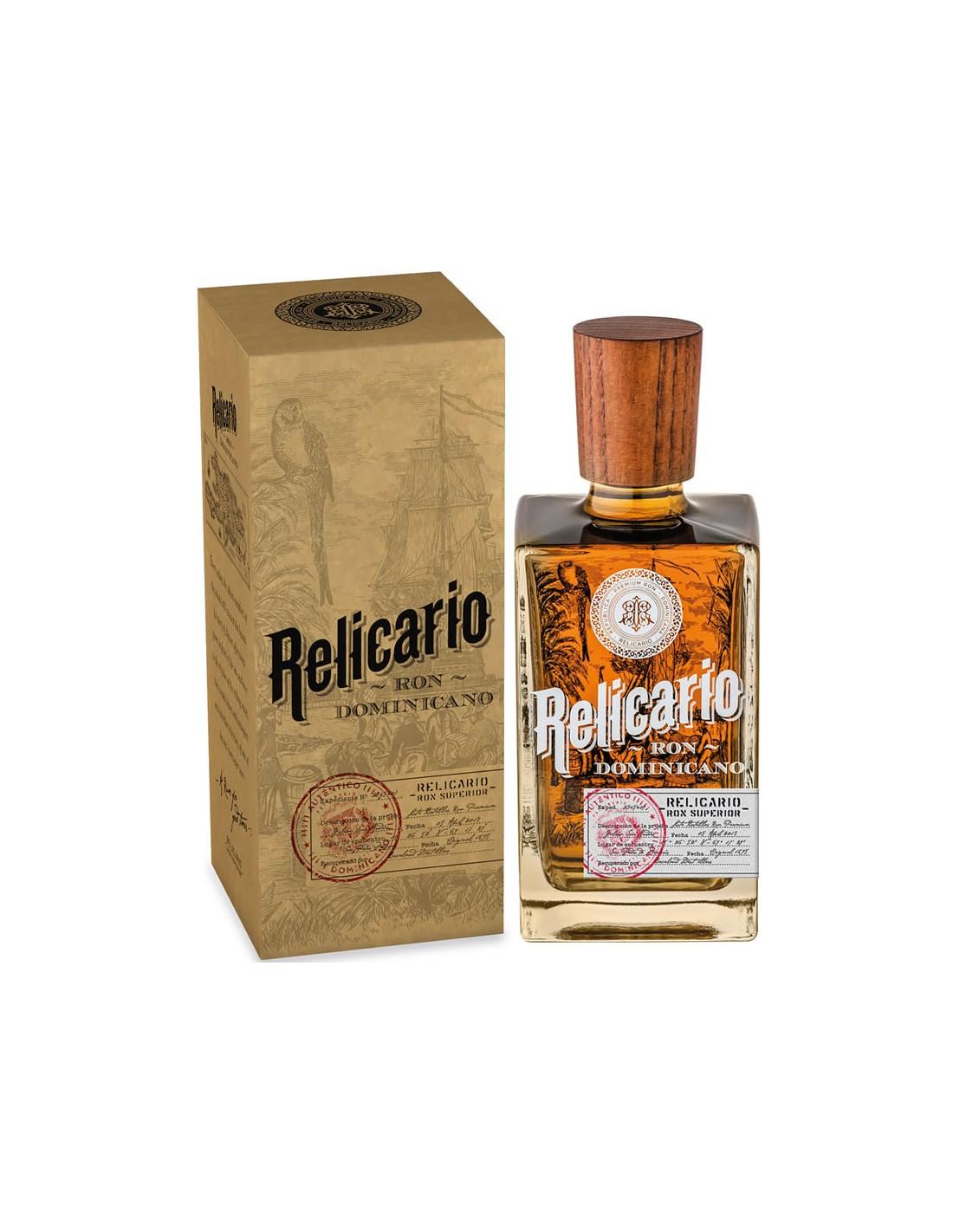 Rom Relicario Ron Dominicano, 40% alc., 0.7L