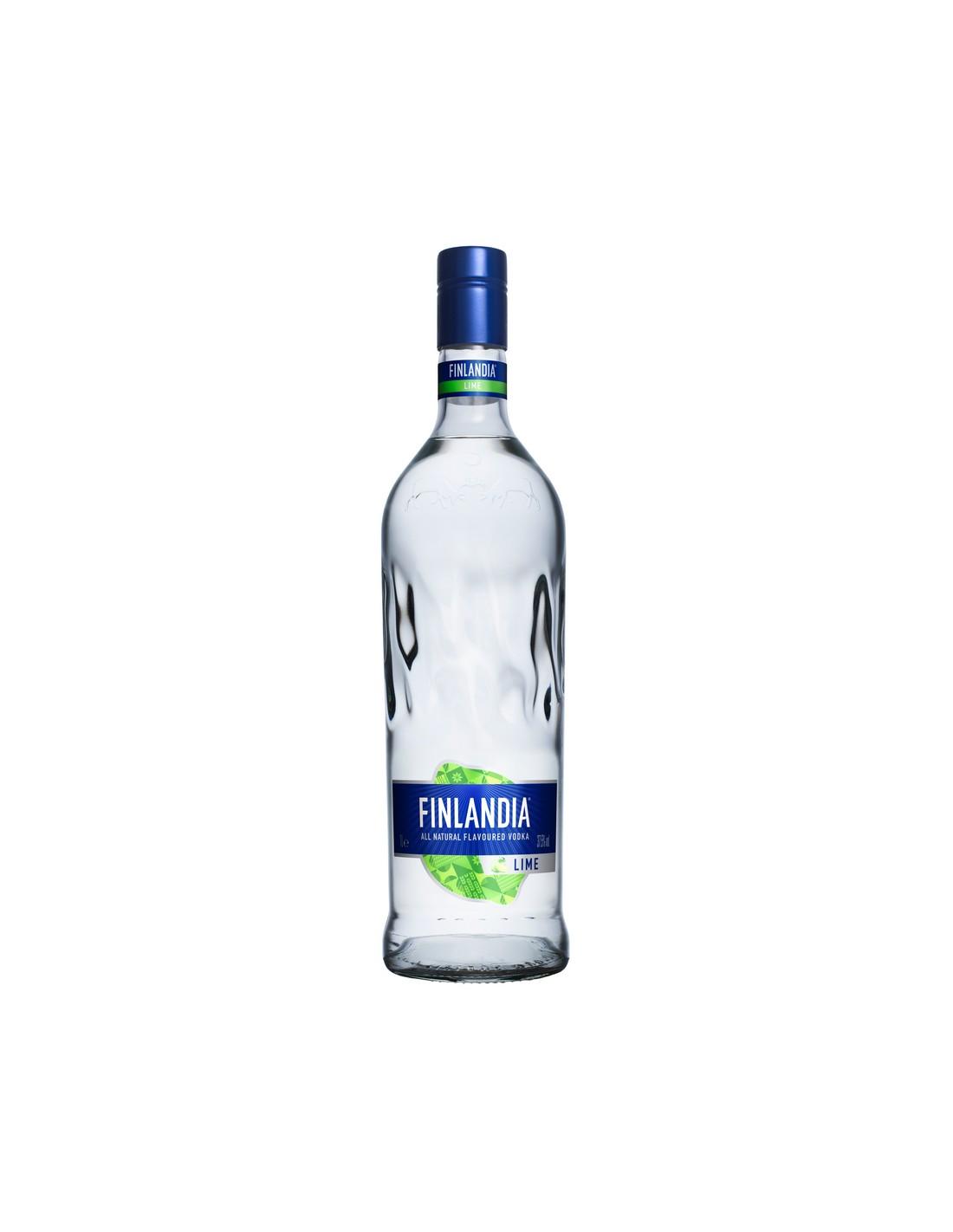 Vodca Finlandia Lime 1L, 37.5% alc., Finlanda