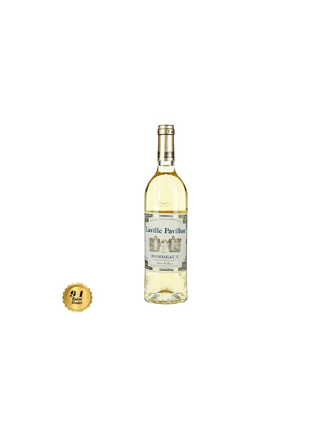 Vin alb sec, Cupaj, Laville Pavillon Bordeaux, 0.75L, 11.5% alc., Franta