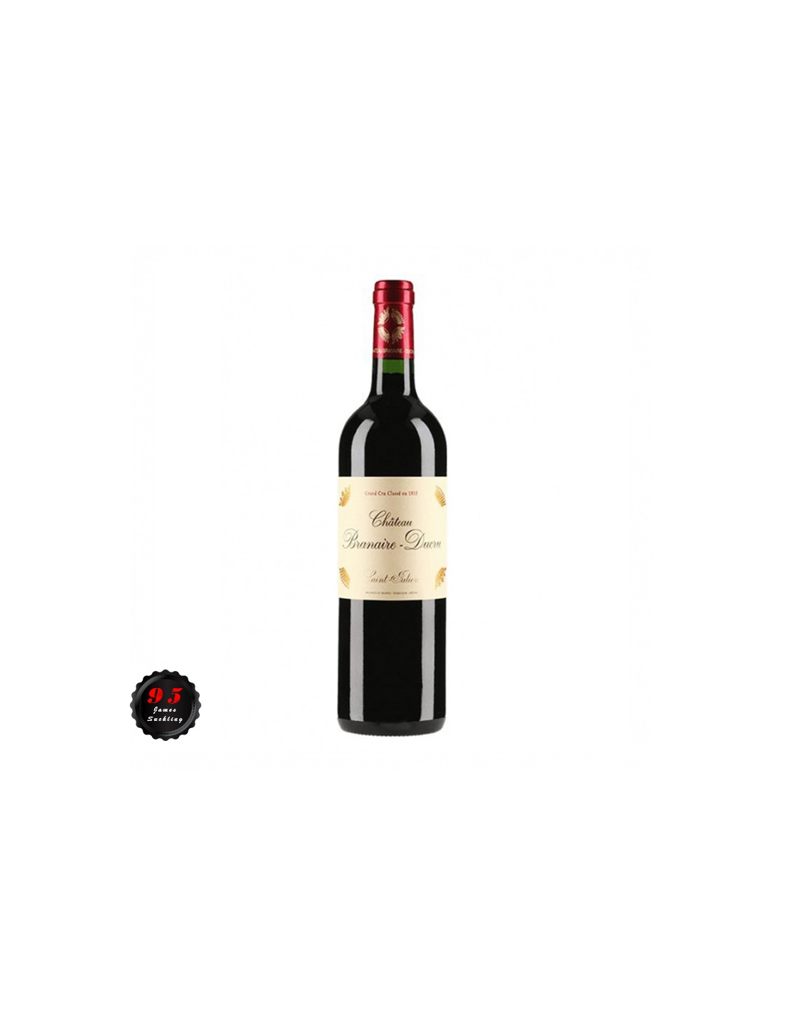 Vin rosu, Cupaj, Château Branaire-Ducru Saint-Julien, 0.75L, 12.8% alc., Franta