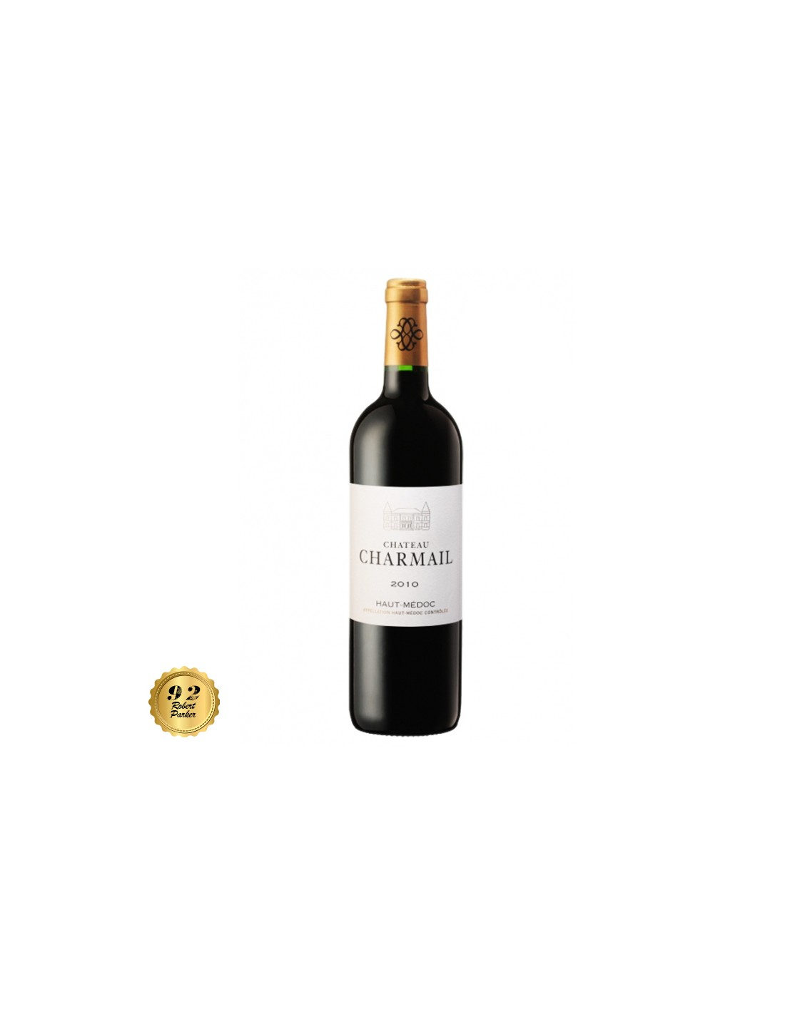 Vin rosu, Cupaj, Château Charmail Haut-Médoc, 0.75L, 13% alc., Franta