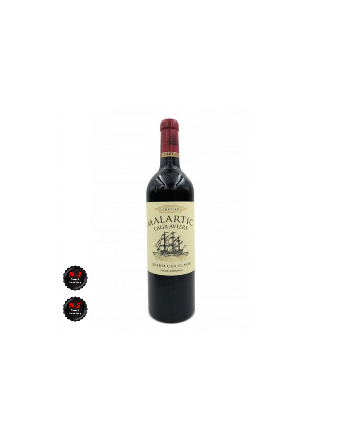 Vin rosu, Cupaj, Château Malartic-Lagravière Pessac-Léognan, 0.75L, 13% alc., Franta