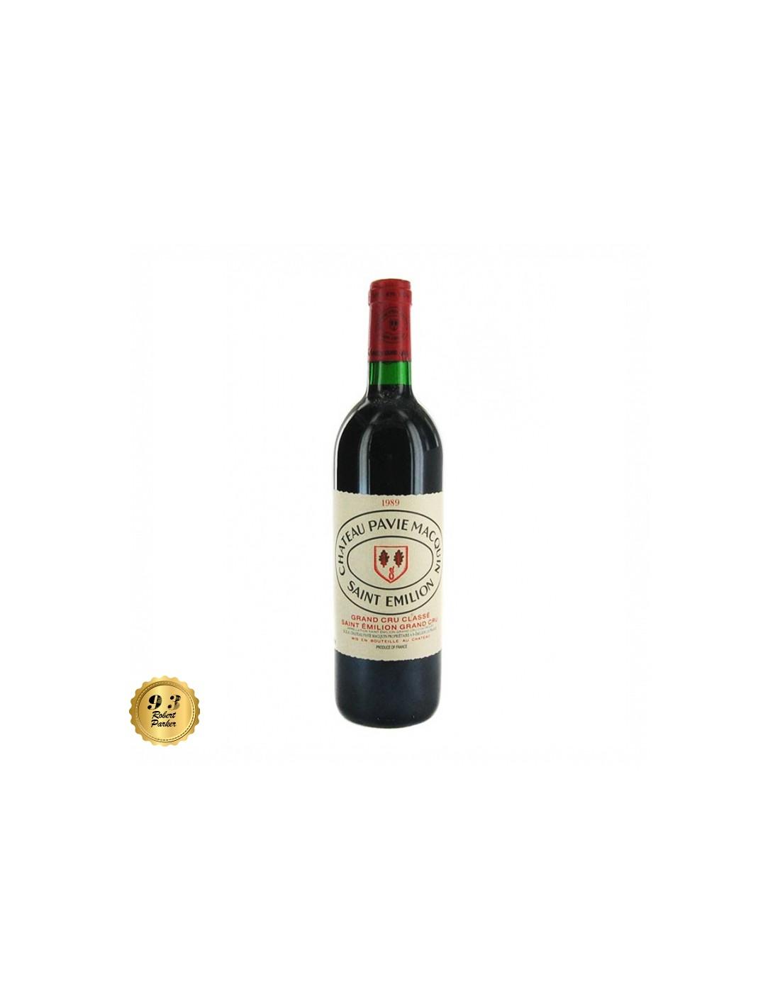 Vin rosu, Cupaj, Château Pavie Macquin Saint-Émilion, 0.75L, 14.5% alc., Franta
