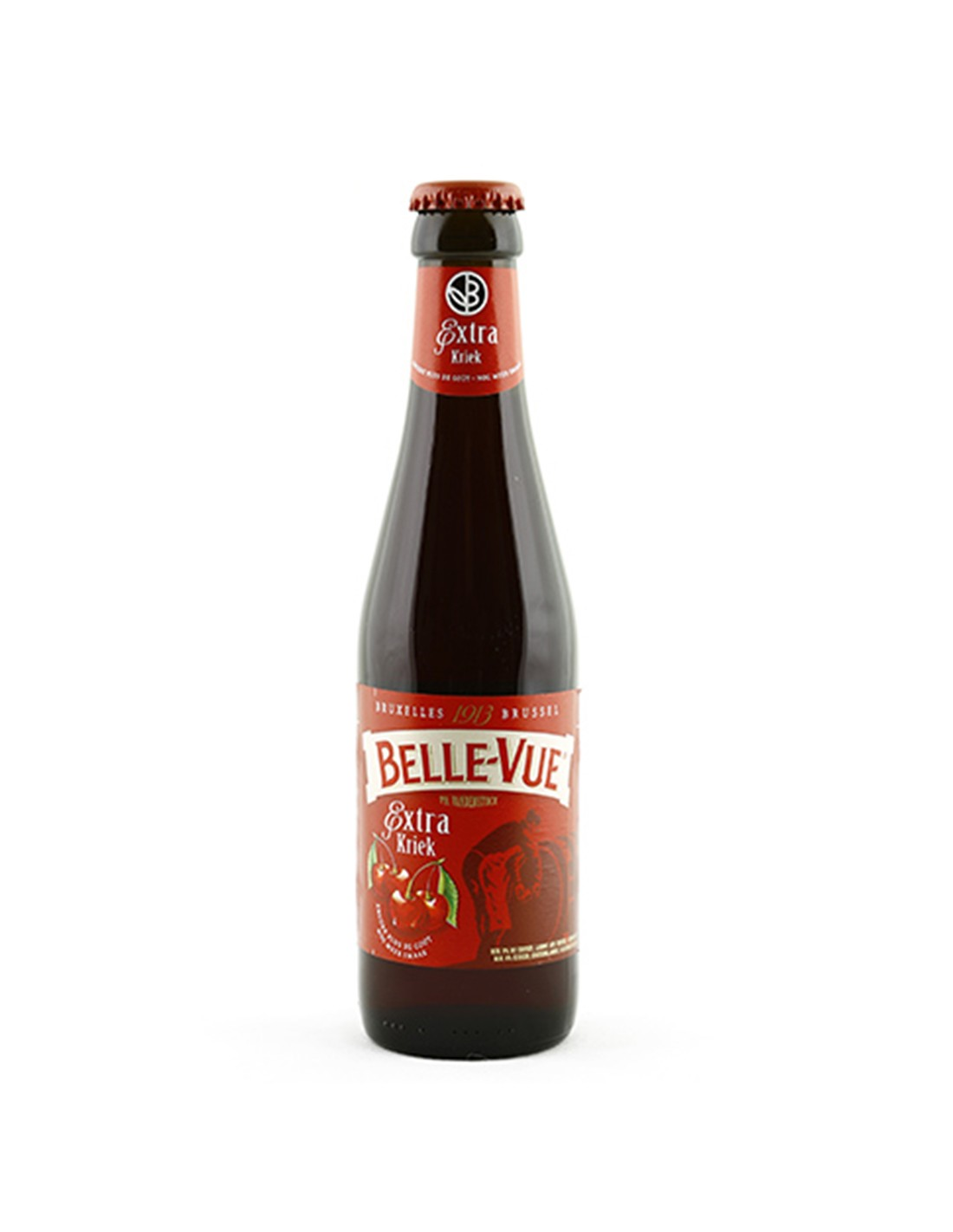 Bere Lambic Belle Vue Kriek Extra, 4.1%, 0.25L, Belgia