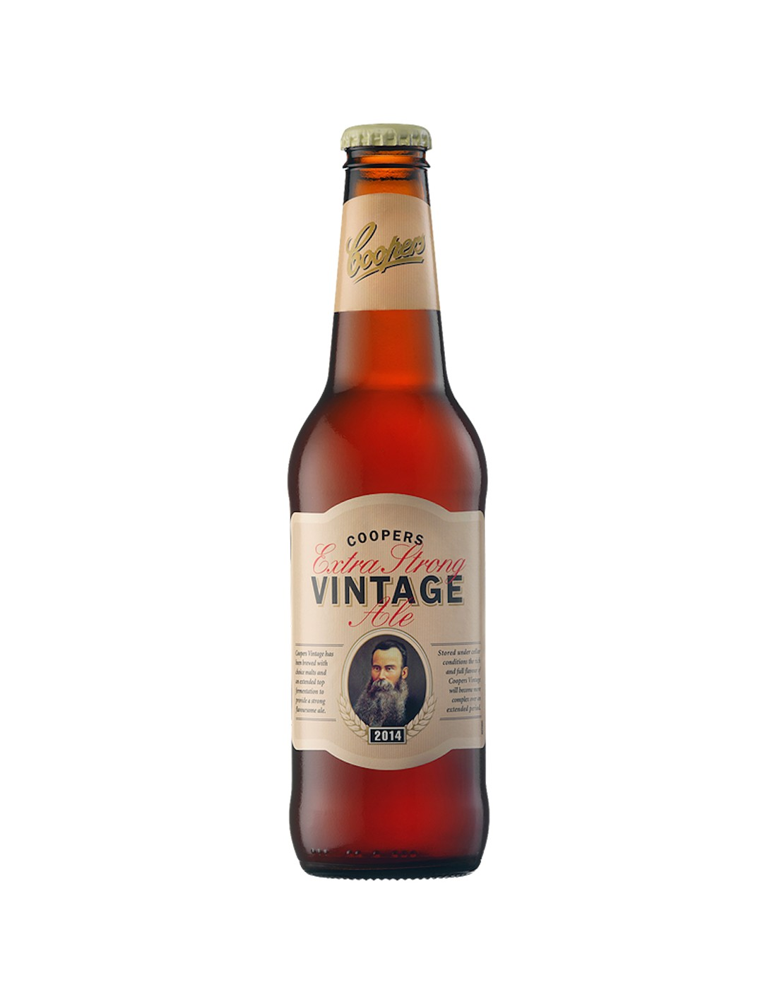 Bere blonda Ale, Coopers Vintage, 2014, 7.5% alc., 0.35L, Australia image0
