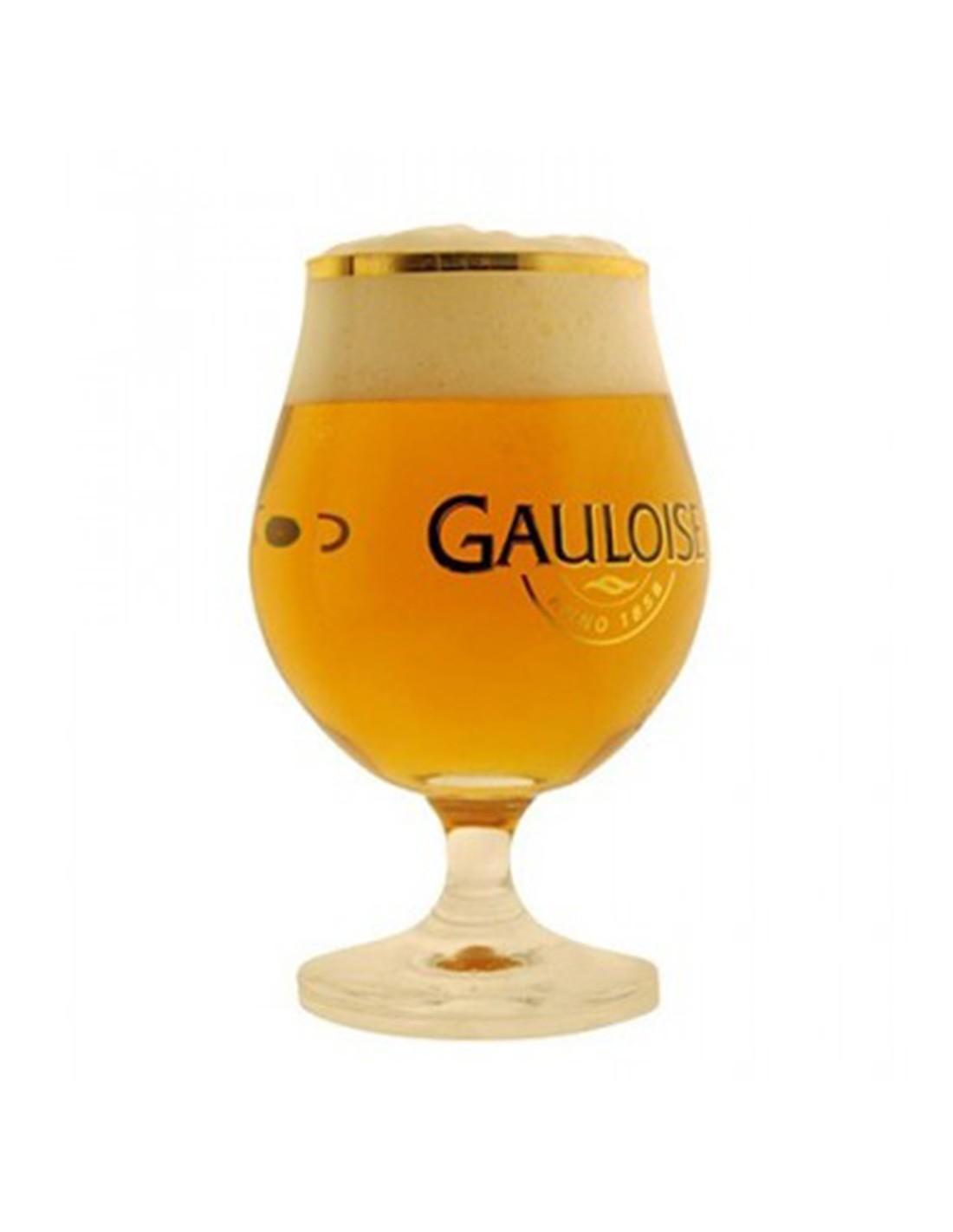 Pahar Gauloise, 0.33L, Belgia