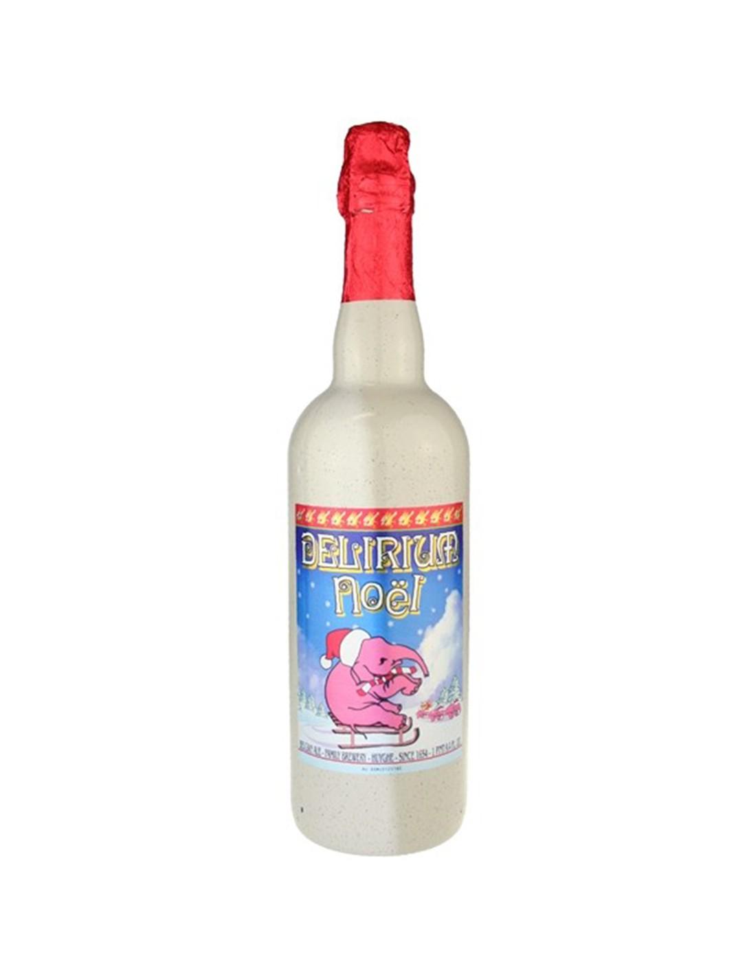 Bere bruna Ale, Delirium Noel, 10% alc., 0.75L, Belgia
