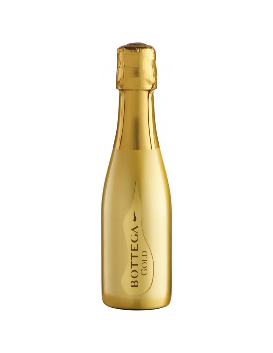 Vin prosecco, Bottega Gold, 11% alc, 0.2L, Italia