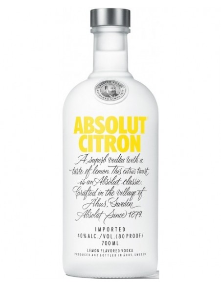 ABSOLUT CITRON 0.7L