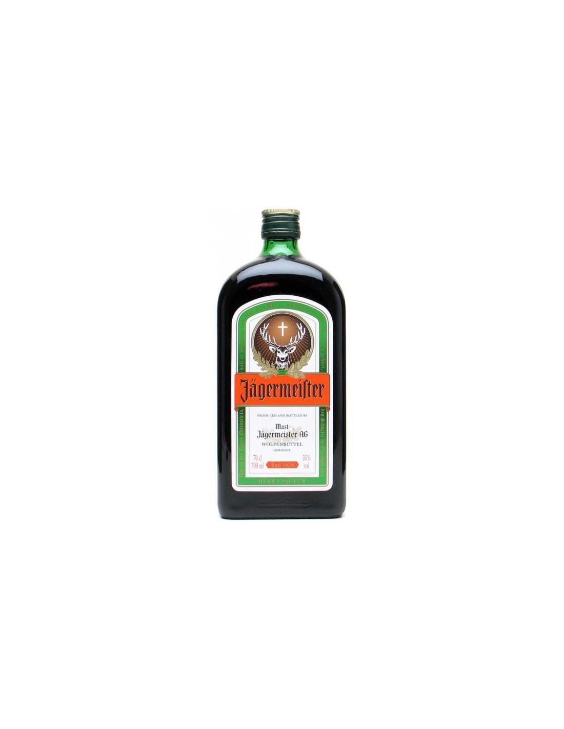Lichior digestiv Jagermeister, 35% alc., 0.7L, Germania