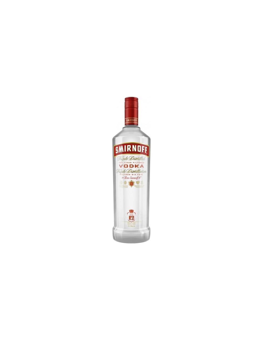 Vodca Smirnoff Red 0.7L, 40% alc., Rusia