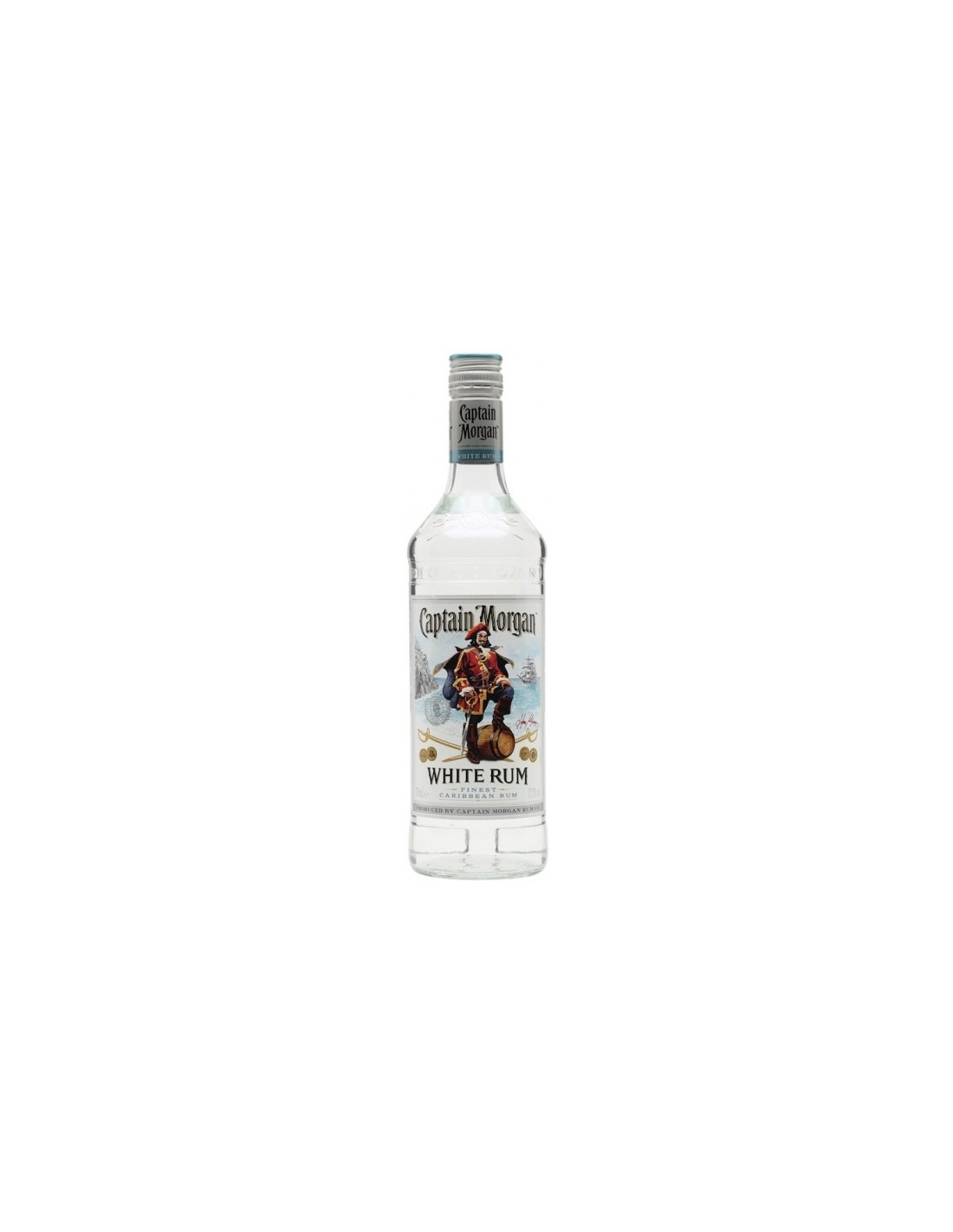 Rom alb Captain Morgan, 0.7L