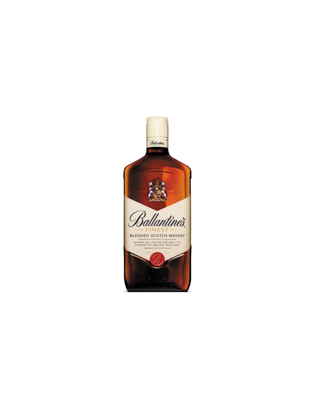 Blended Whisky Ballantine's Finest, 40% alc., 1L, Scotia