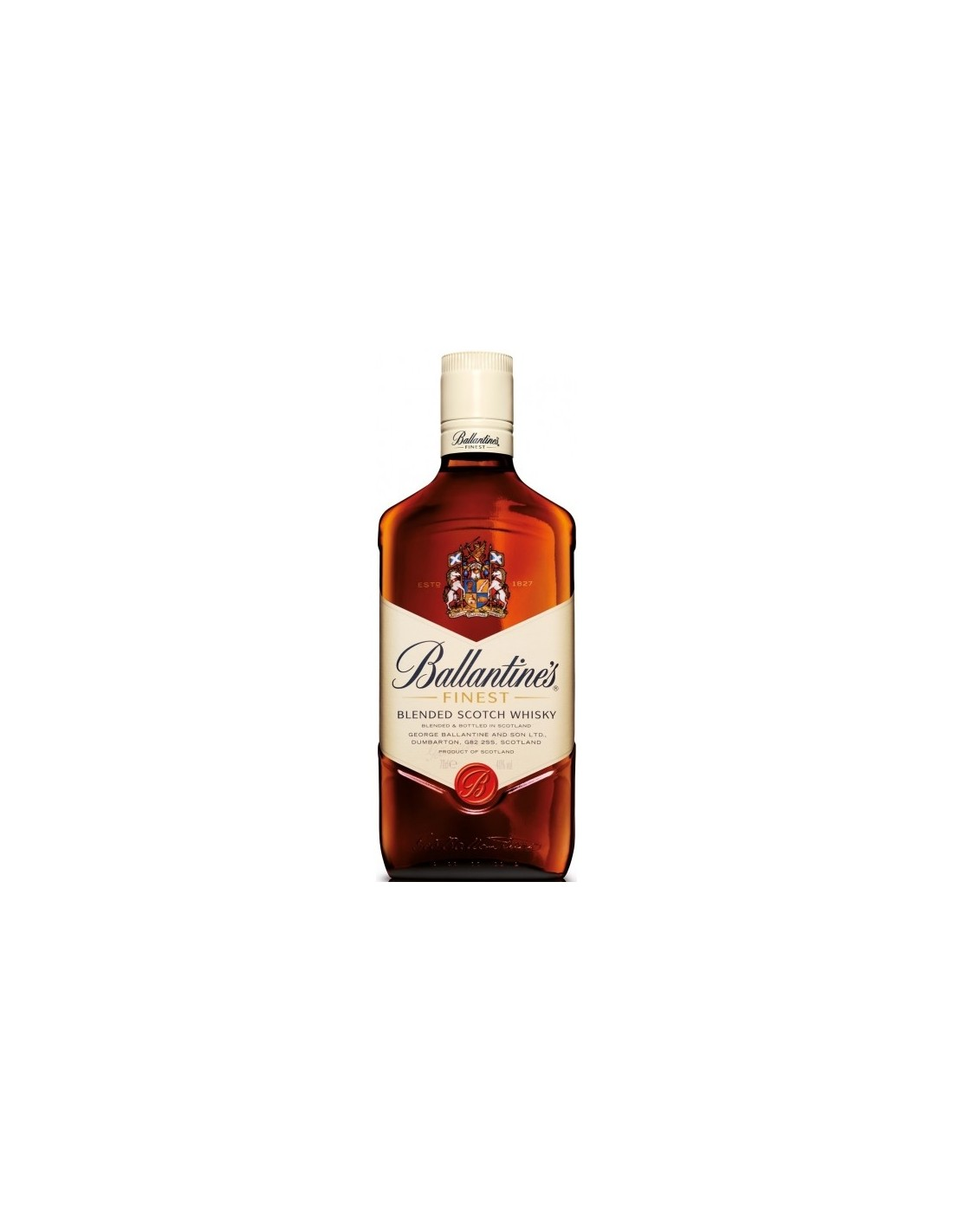 Blended Whisky Ballantine's Finest, 40% alc., 0.7L, Scotia