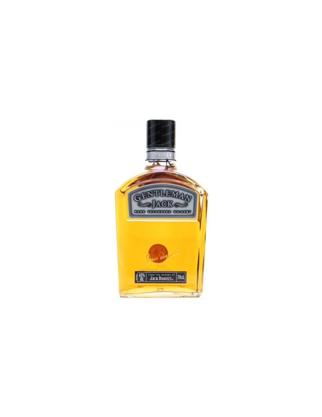 Whisky Bourbon Gentleman Jack, 40% alc., 0.7L, America