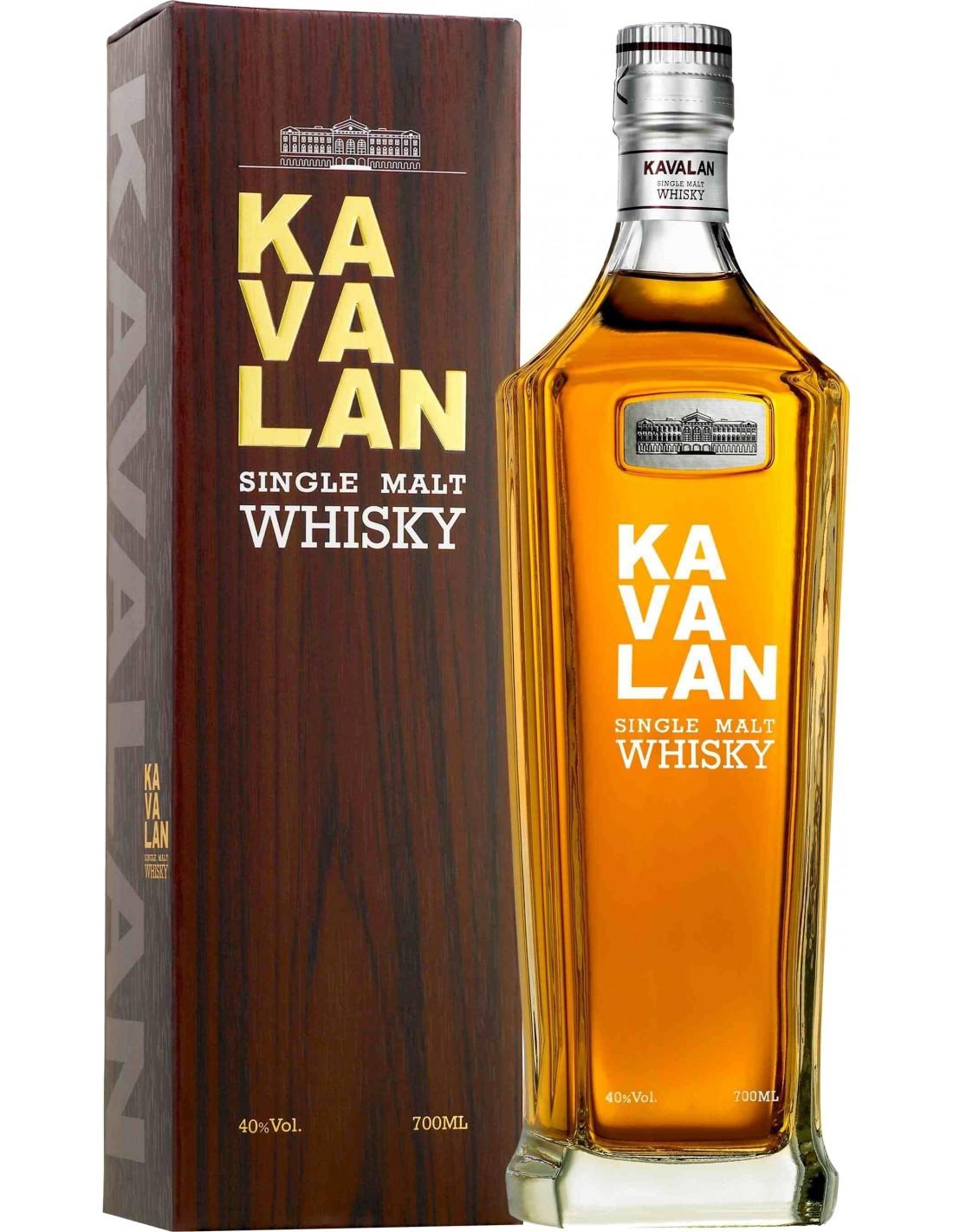 Whisky Kavalan, 40% alc., 0.7L, Taiwan