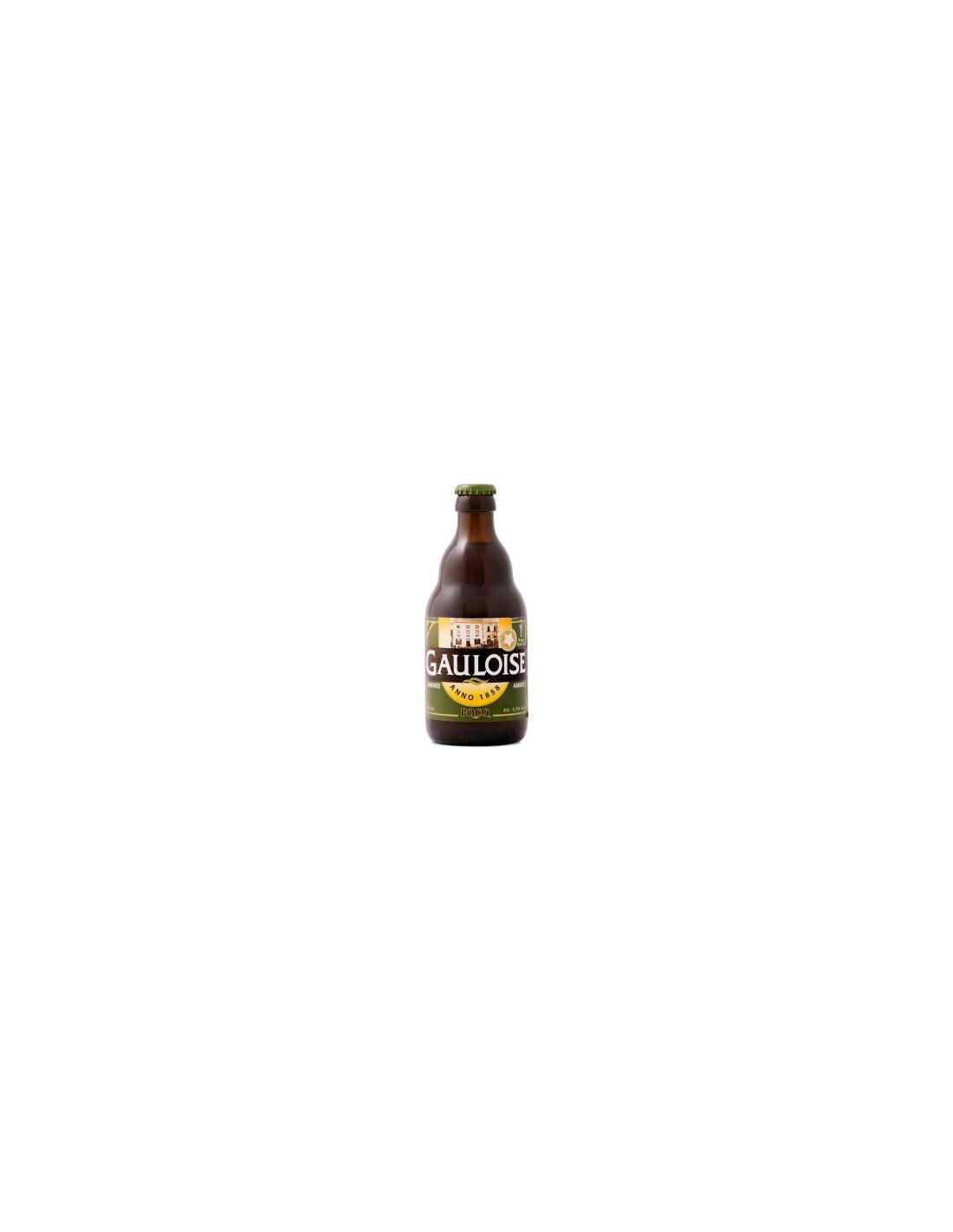 Bere amber Gauloise, 8.1% alc., 0.33L, Belgia