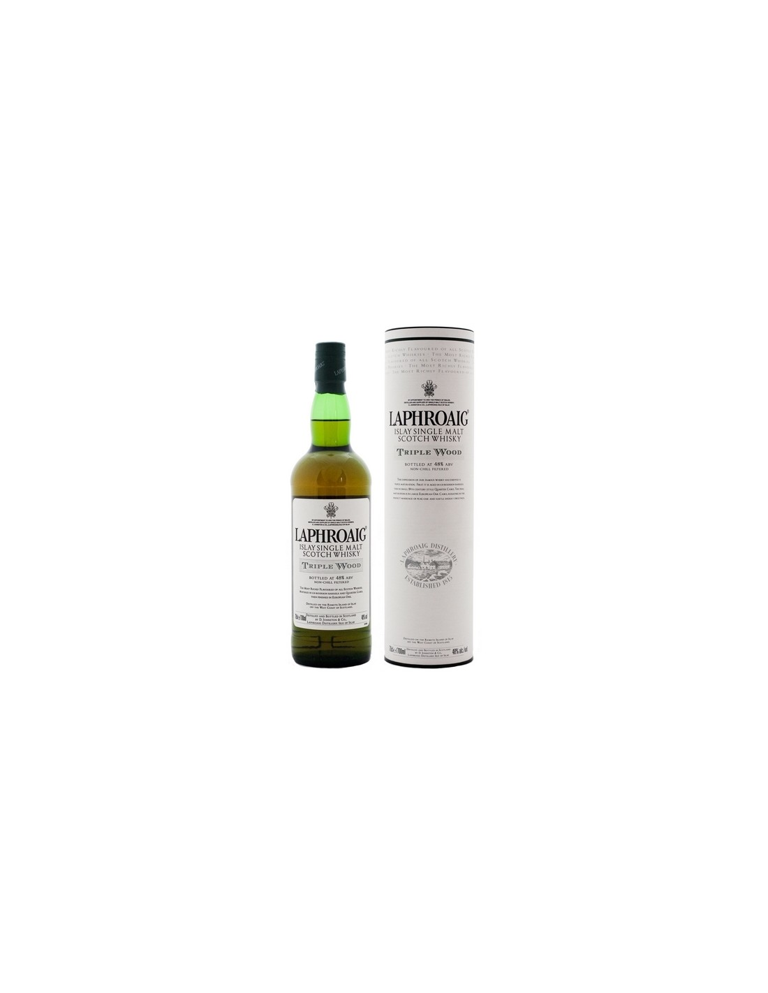 Whisky Laphroaig Triple Wood, 48% alc., 0.7L, Scotia
