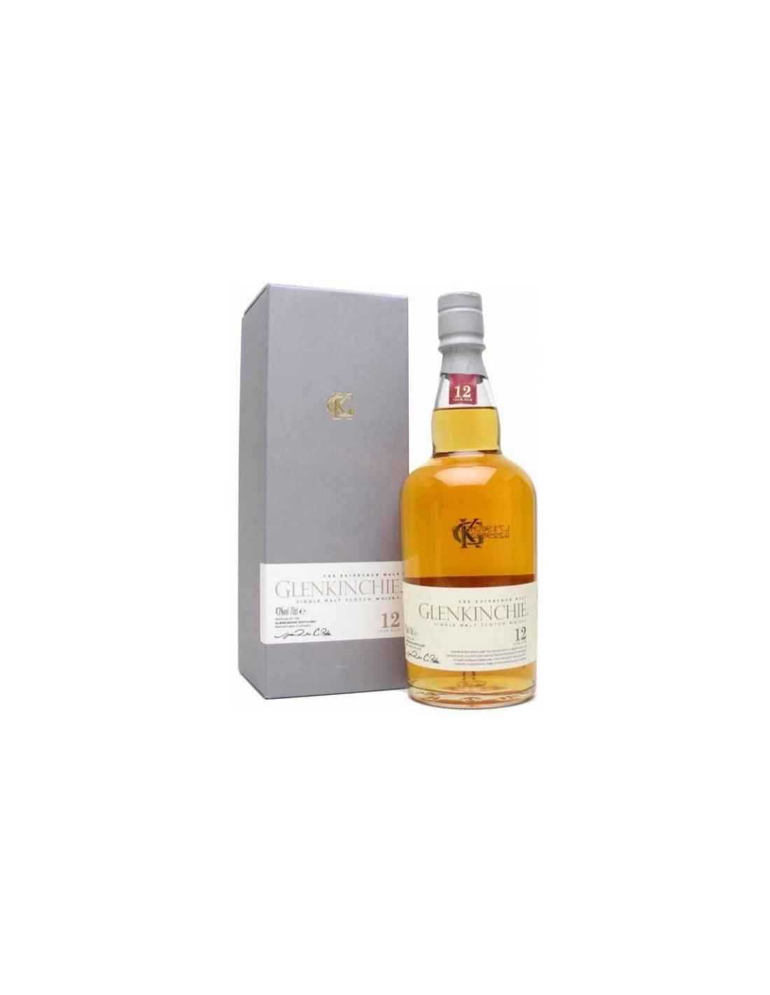 Whisky Glenkinchie, 12 ani, 43% alc., 0.7L, Scotia
