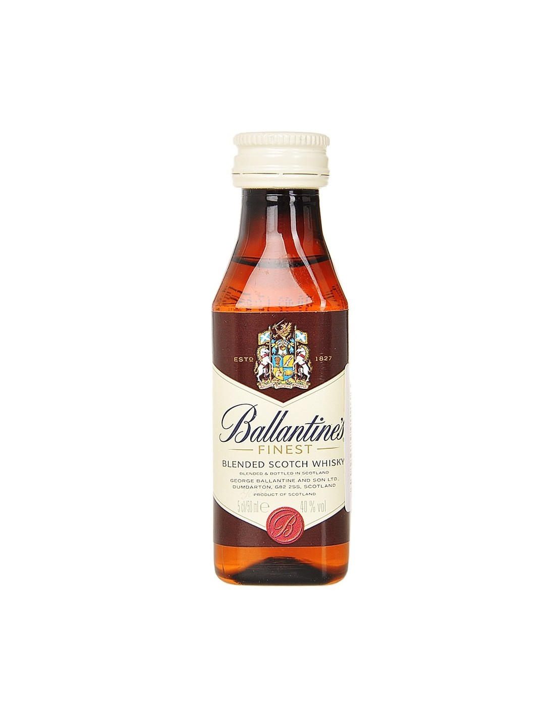 Whisky Ballantine's Finest, 40% alc., 0.05L, Scotia