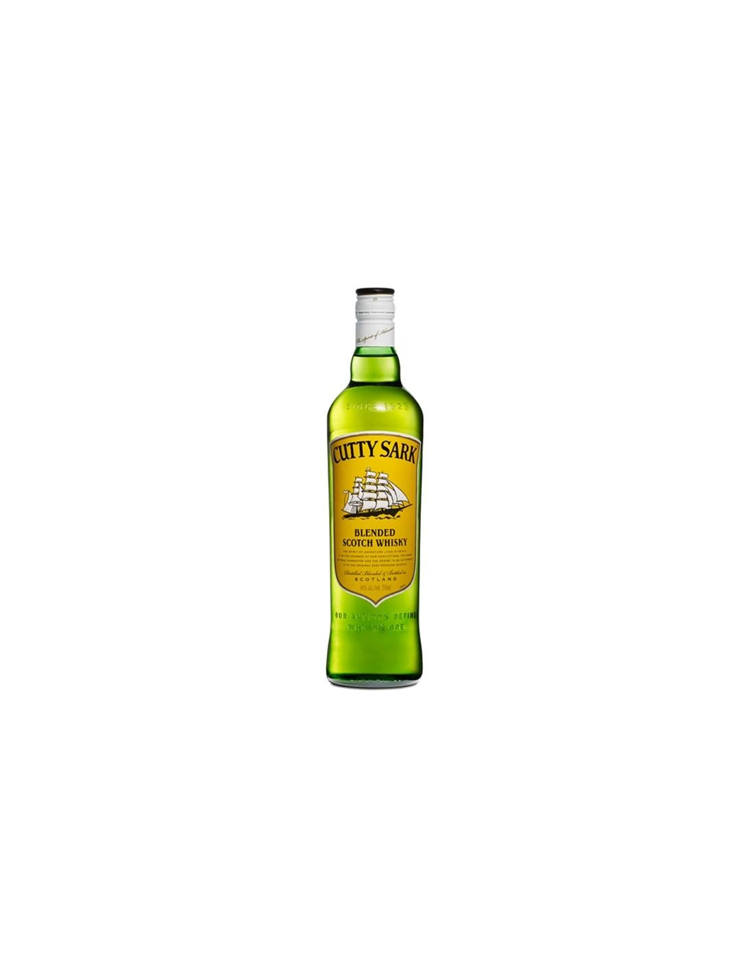 Whisky Cutty Sark, 40% alc., 0.7L, Scotia
