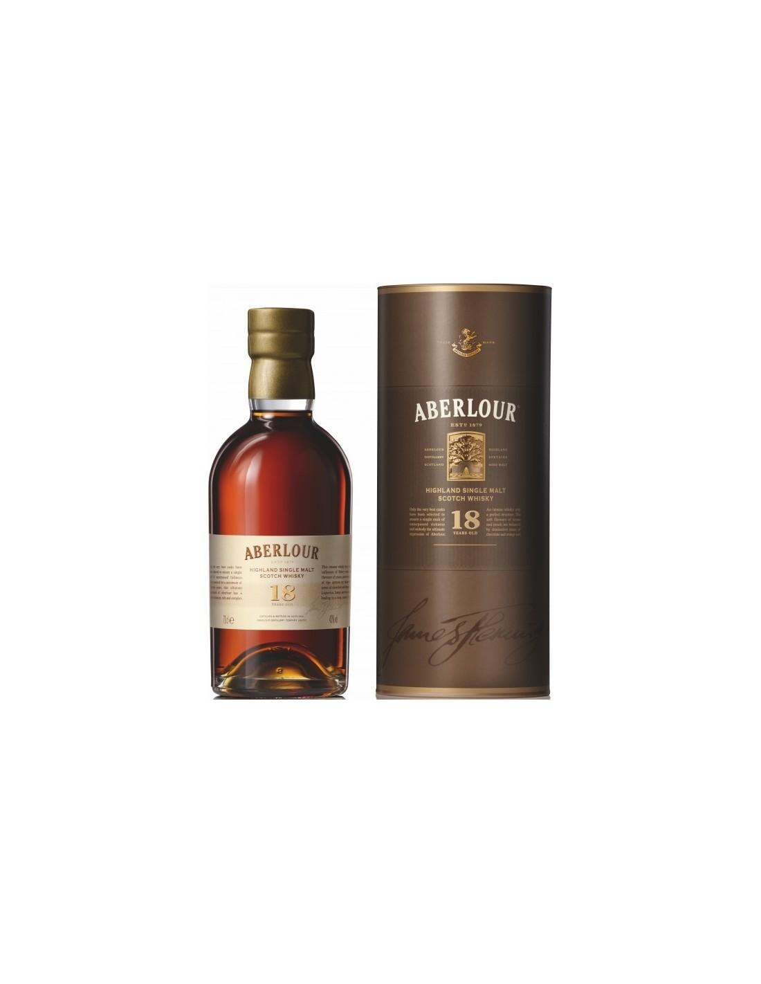 Whisky Aberlour, 18 ani, 43% alc., 0.7L, Scotia