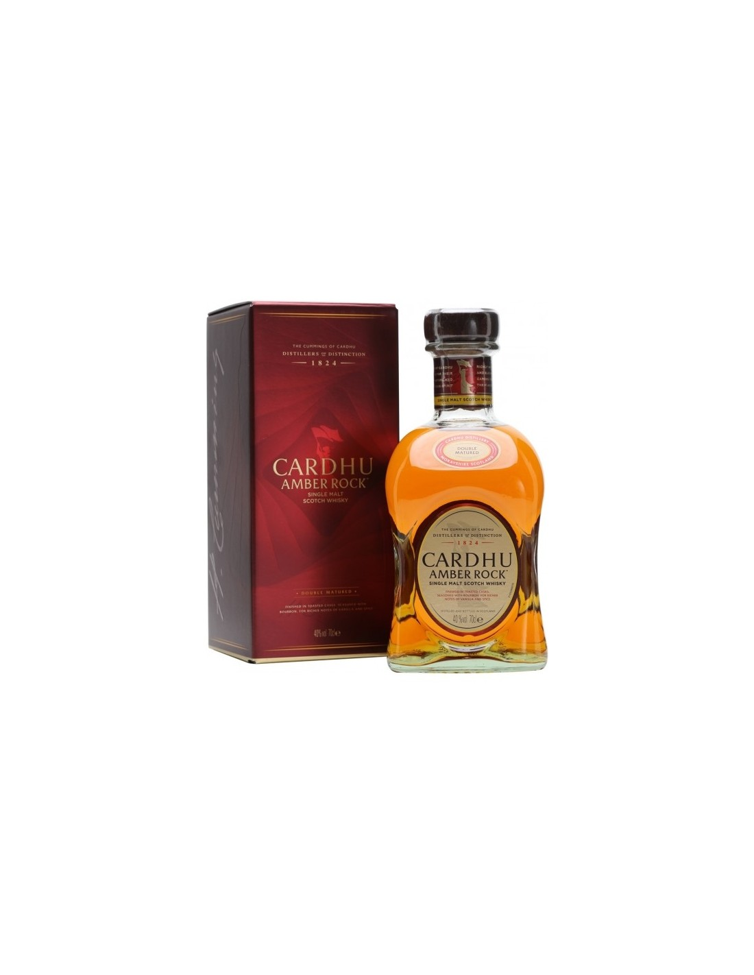 Whisky Single Malt Cardhu Amber Rock, 40% alc., 0.7L, Scotia