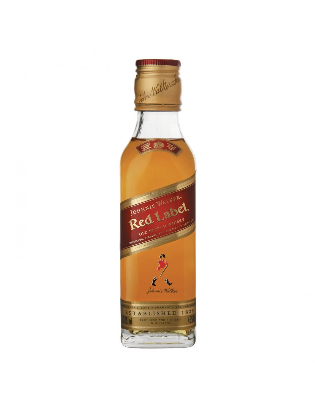 Whisky Johnnie Walker Red Label, 40% alc., 0.05L, Scotia