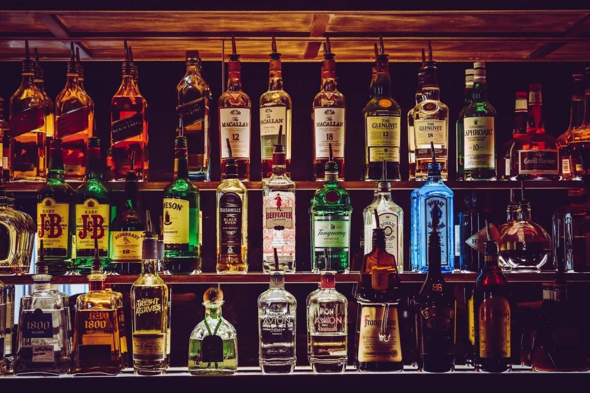 pentru băuturi la vedere